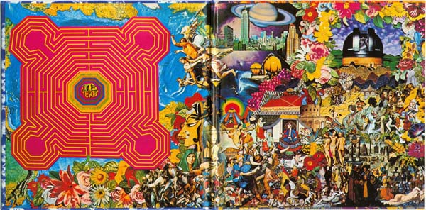Inside gatefold, Rolling Stones (The) - Their Satanic Majesties Request