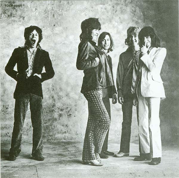 Back of card insert, Rolling Stones (The) - Sticky Fingers