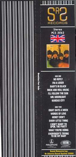 Obi, Beatles (The) - Beatles For Sale