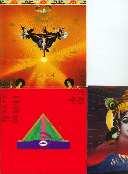 4th, lift pyramid flap up, Santana - Lotus