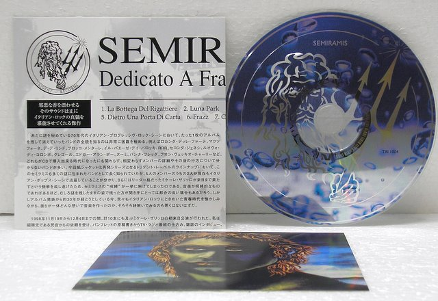 Inserts and CD (2006), Semiramis - Dedicato a Frazz