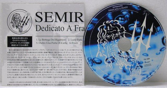 Insert and CD (2002), Semiramis - Dedicato a Frazz