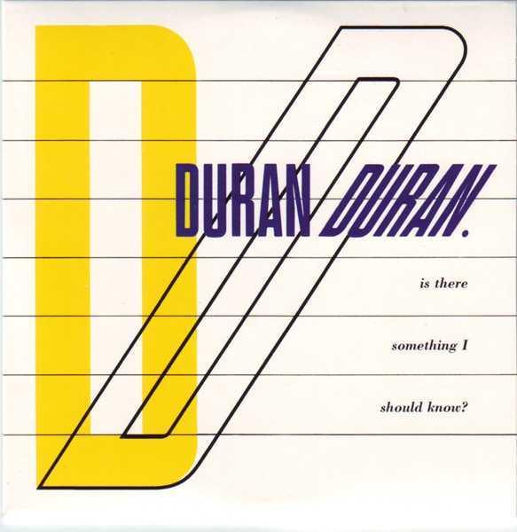 CD8 Sleeve [Front], Duran Duran - The Singles 81-85 Boxset
