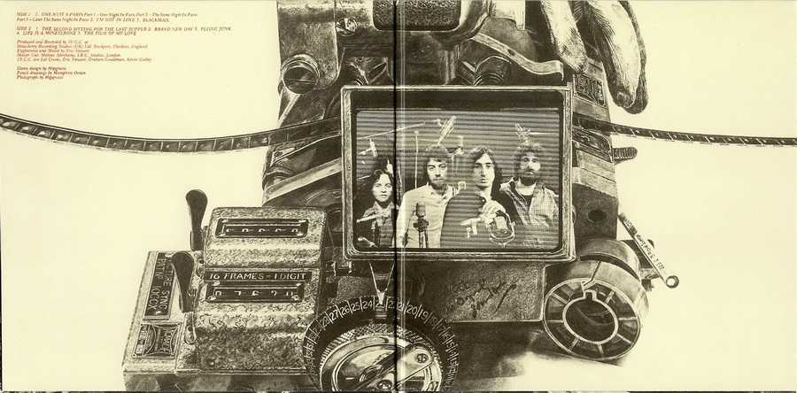 Gatefold Sleeve Inner, 10cc - The Original Soundtrack  (+4)