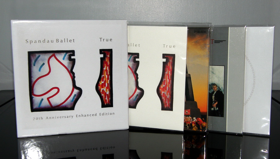 Produced to hold release of 4 japan mini lp's, Spandau Ballet - True Custom Box