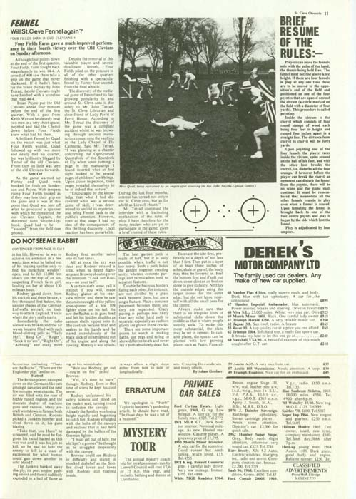 St Cleve Chronicle - Page 11, Jethro Tull - Thick As A Brick +2