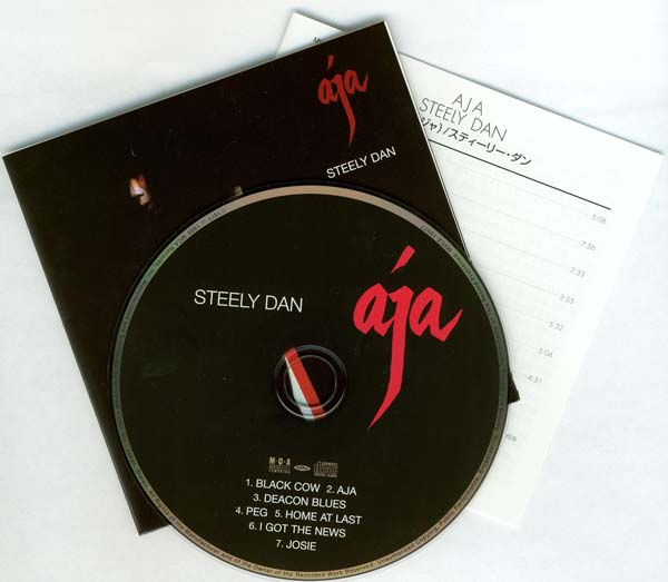 CD and inserts, Steely Dan - Aja