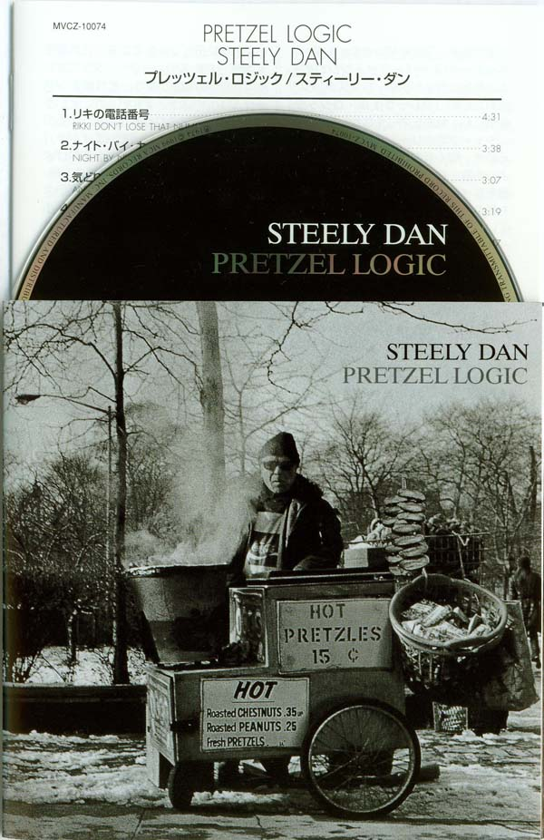 CD and English and Japanese Inserts, Steely Dan - Pretzel Logic