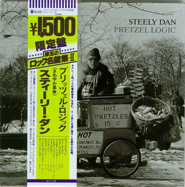 Cover with promo obi, Steely Dan - Pretzel Logic