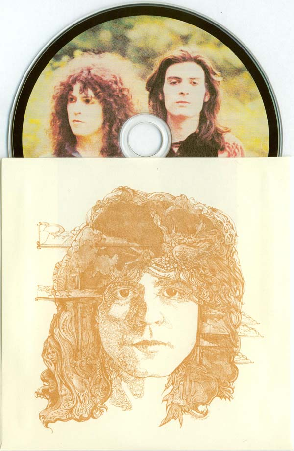 Inners sleeve and CD, T Rex (Tyrannosaurus Rex) - Electric Warrior +8