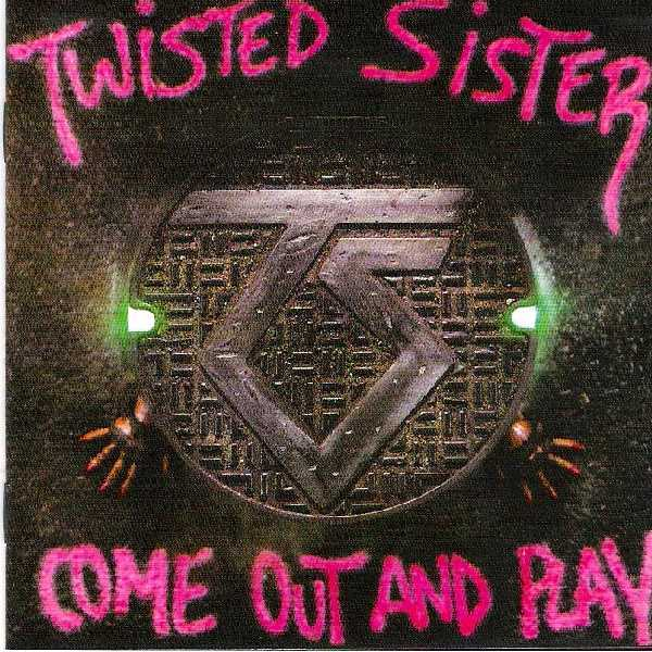 Lyrics booklet front, Twisted Sister - Come Out And Play