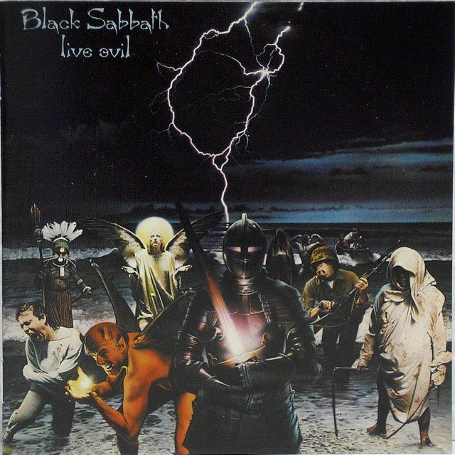 English Booklet, Black Sabbath - Live Evil