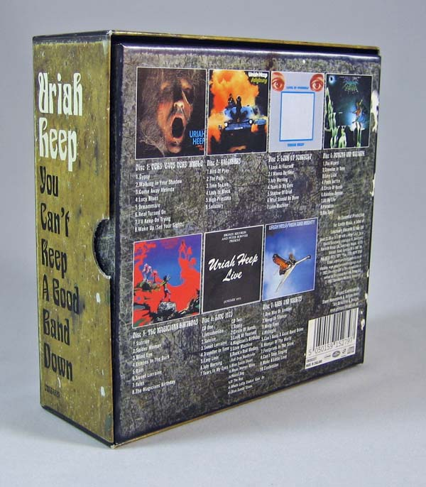Back of the box, Uriah Heep - You Can't Keep a Good Band Down