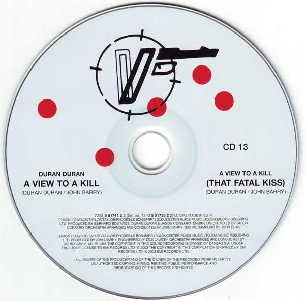 CD13 [Disc], Duran Duran - The Singles 81-85 Boxset