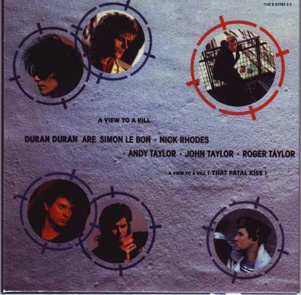 CD13 Sleeve [Back], Duran Duran - The Singles 81-85 Boxset