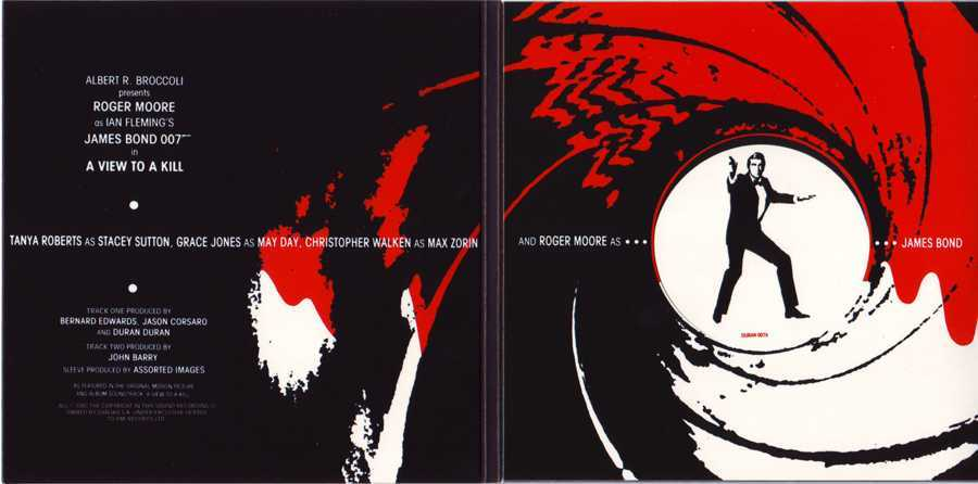 CD13 Sleeve [Inner Gatefold], Duran Duran - The Singles 81-85 Boxset