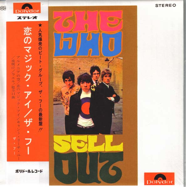 Sell Out (Japan LP version) - mini LP front, Who (The) - Exciting The Who Unauthorised Box
