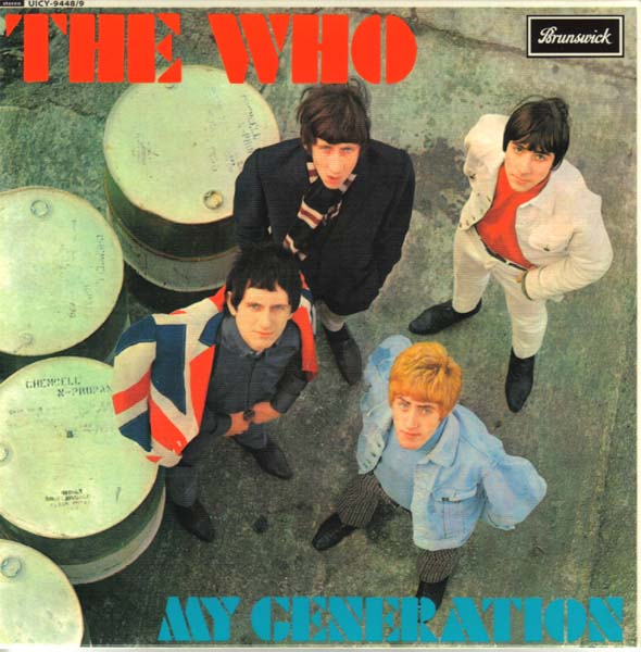 (U.K. cover) - Front, Who (The) - My Generation +17