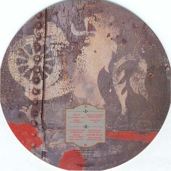 Japanese Paper Sleeve Mini Vinyl LP Replica CD - XTC - TOCP-67807 - The Big Express (+3) - Image ...