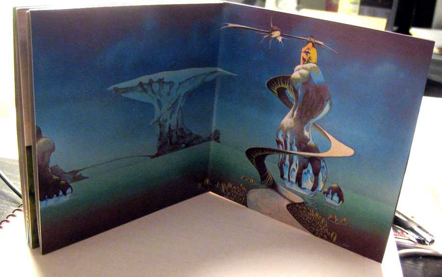 Last spread of cover, Yes - Yessongs