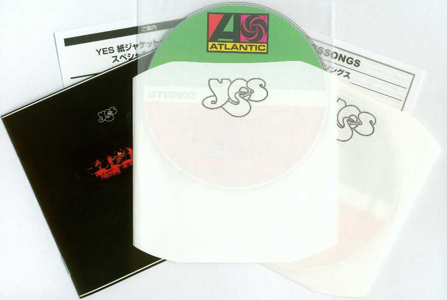 Contents, Yes - Yessongs