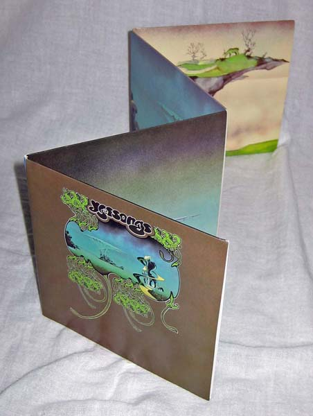 Full gatefold, Yes - Yessongs