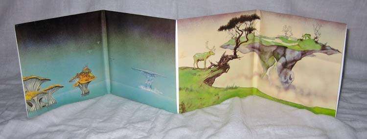 Full gatefold - back, Yes - Yessongs