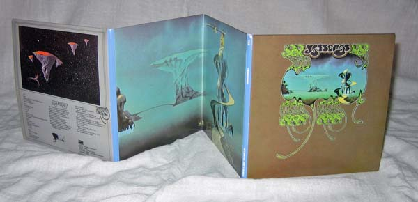 Full gatefold - front, Yes - Yessongs