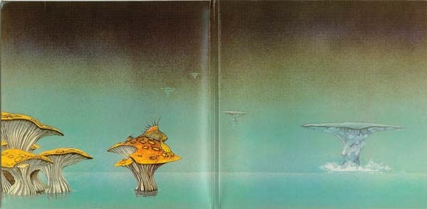 Roger Dean Gatefold 1 (Arrival), Yes - Yessongs
