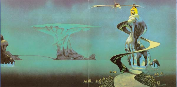 Roger Dean Gatefold 3 (Pathways), Yes - Yessongs