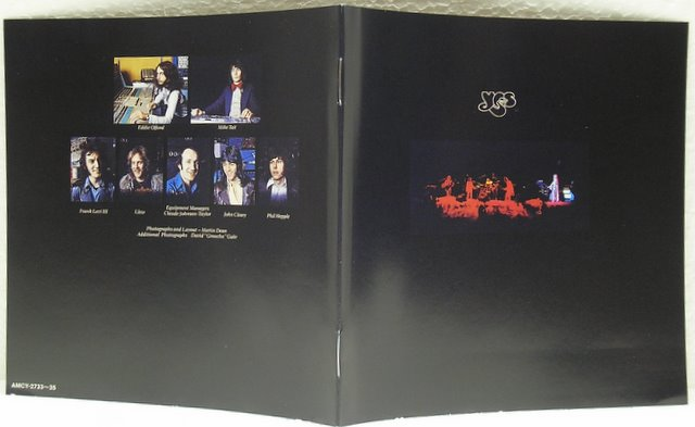 LP Booklet Replica, Yes - Yessongs