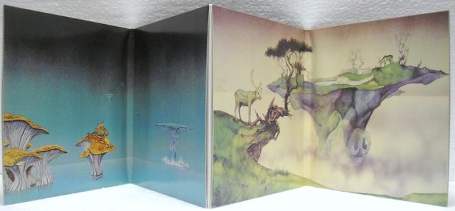 Gatefold Cover Opened, Yes - Yessongs
