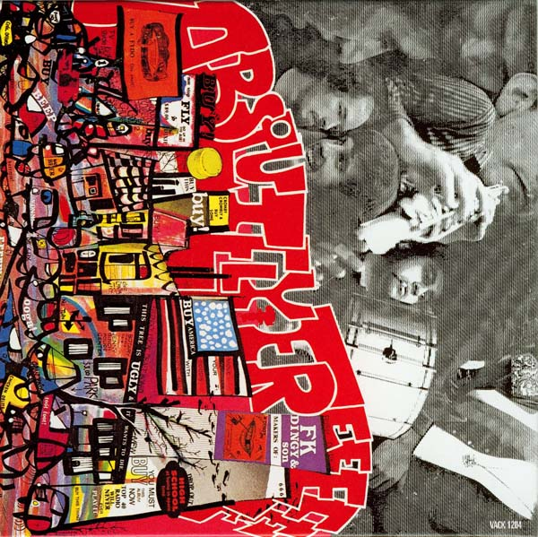 Back cover, Zappa, Frank - Absolutely Free +2