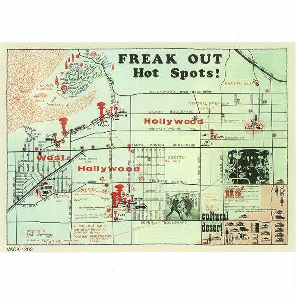 Hot spots (single sided insert), Zappa, Frank - Freak Out!