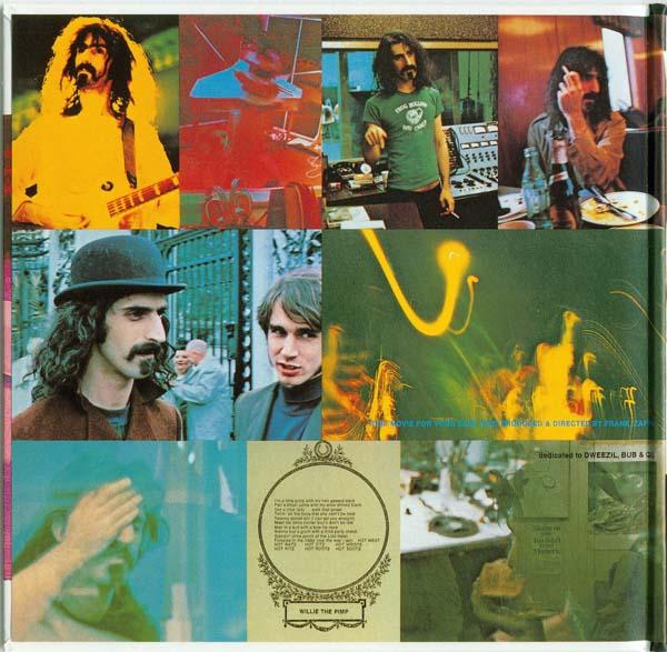 Inside gatefold left, Zappa, Frank - Hot Rats