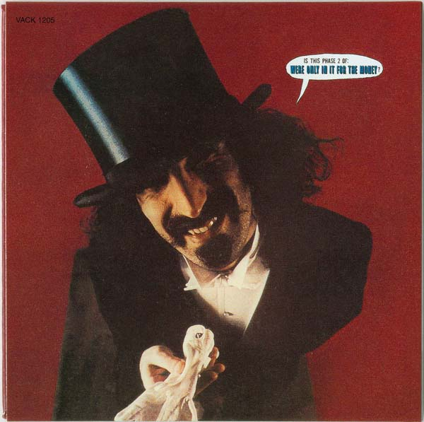 Back cover, Zappa, Frank - Lumpy Gravy