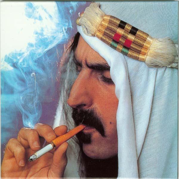 Back cover, Zappa, Frank - Sheik Yerbouti