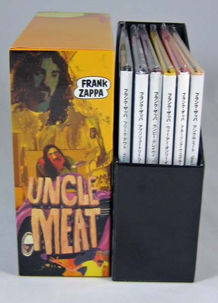 Spines, Zappa, Frank - Uncle Meat Box