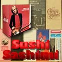 Disk Union Promo Boxes, new and used Japanese Mini LPs from Sushi Sashimi